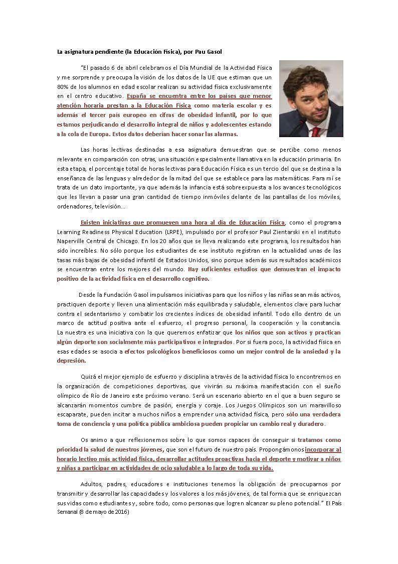 La asignatura pendiente-Pau-Gassol_Josemi-Educación-Física