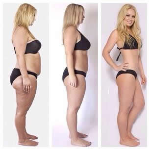 Cambio corporal femenino