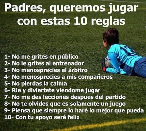 10 reglas para los padres - Josemi Entrenador Personal Madrid