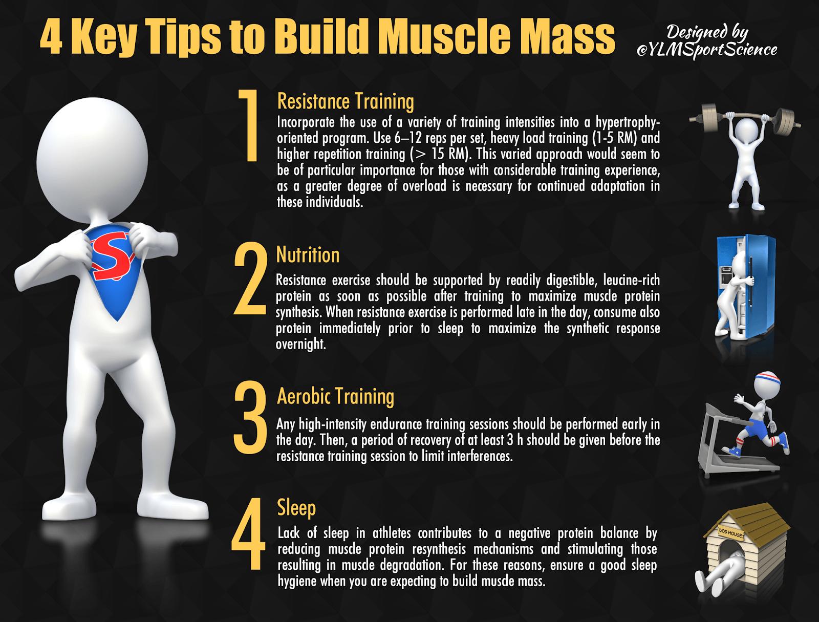 Consejos para construir masa muscular - Josemi Entrenador Personal Madrid