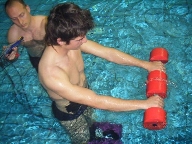 Entrenamiento fuerza agua 6