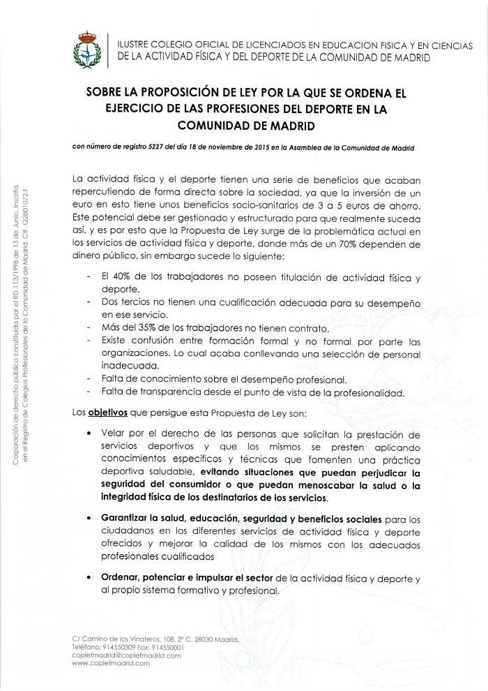 Regulación Profesional Deporte 1