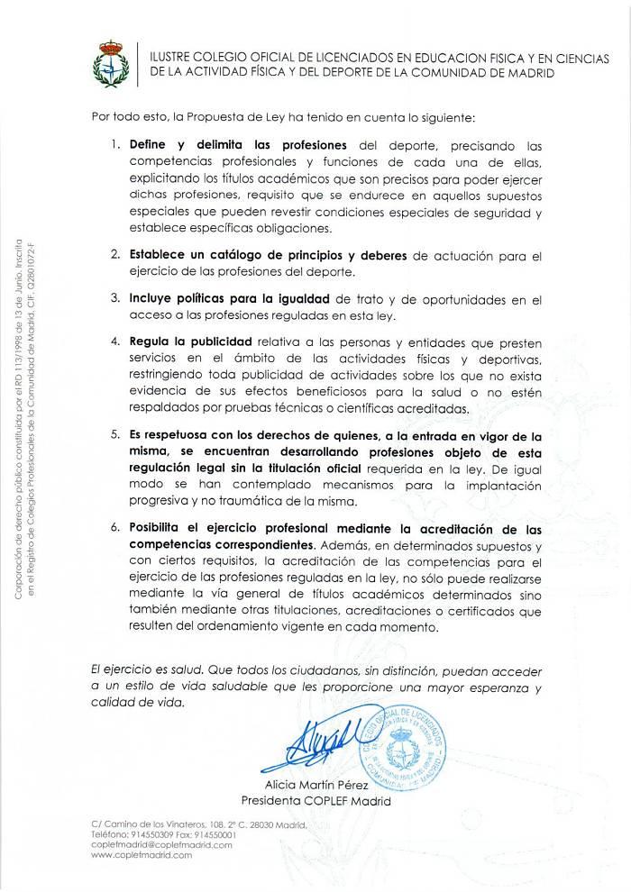 Regulación Profesional Deporte 2
