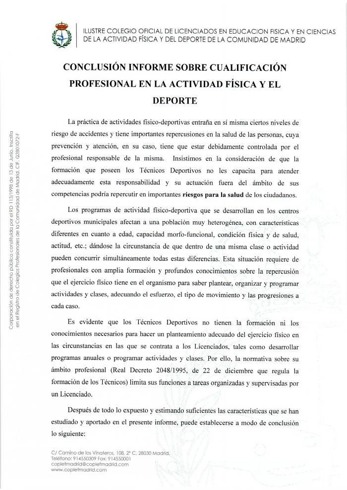 Regulación Profesional Deporte 3