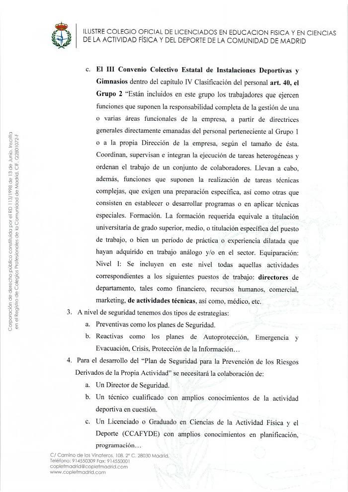 Regulación Profesional Deporte 5