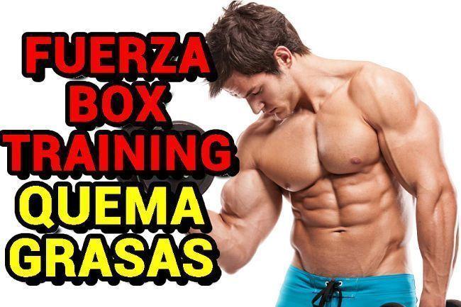 Fuerza-box-training-perder-peso