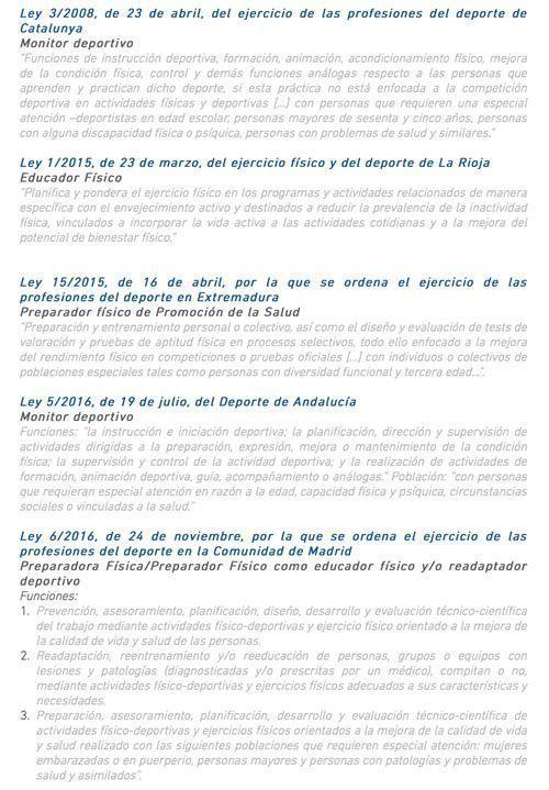 Leyes-regulación-CCAA-Josemi-Entrenador-personal-Madrid